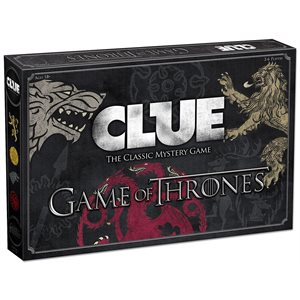 Clue: Game of Thrones (No Amazon Sales)