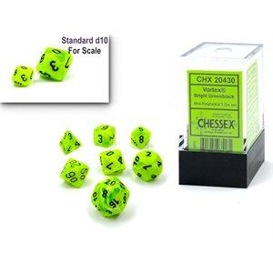 Vortex: Mini 7Pc Bright Green / black ^ Q4 2021