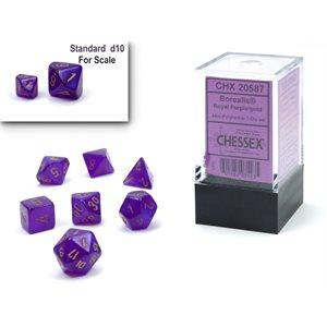 Borealis: Mini 7Pc Purple / gold Luminary ^ Q4 2021