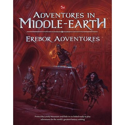 D&D: Adventures in Middle Earth Erebor Adventures (BOOK) ^ SEP 18 2019