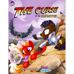 My Little Pony: Tails of Equestria RPG Curse of the Statuettes (BOOK)