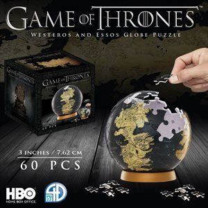 "3D Puzzle: Game of Thrones: Globe (3"") (60 Pieces)"