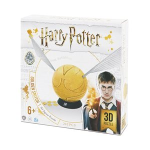 "3D Puzzle: Harry Potter: Golden Snitch (6"") (244 Pieces)"