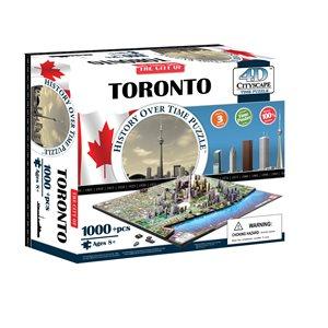 4D Cityscape: Toronto, Canada (1081 Pieces)