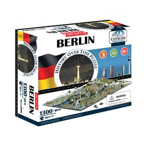 4D Cityscape: Berlin, Germany (1300 Pieces)