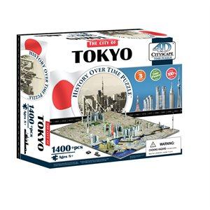 4D Cityscape: Tokyo, Japan (1400 Pieces)