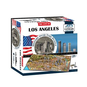 4D Cityscape: Los Angeles (1457 Pieces)