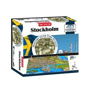 4D Cityscape: Stockholm (1119 Pieces)
