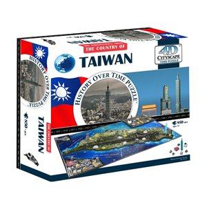 4D Cityscape: 4D Taiwan (920 Pieces)