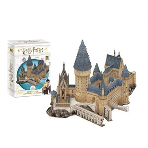 3D Puzzle: Harry Potter Great Hall (187 Pieces)