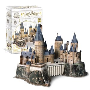 3D Puzzle: Harry Potter: Hogwarts Castle (Medium) (197 Pieces)