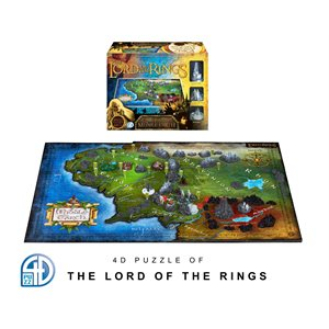 4D Puzzle: The Lord of the Rings: Middle-Earth (2174 Pieces)
