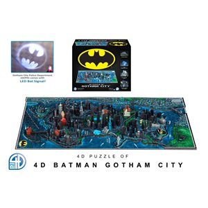 4D Puzzle: Batman Gotham City (1593 Pieces)