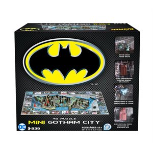 4D Puzzle: Mini Batman Gotham City (839 Pieces)