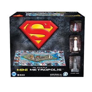 4D Puzzle: Superman Metropolis (833 Pieces)