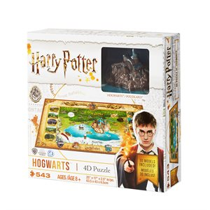 4D Puzzle: Harry Potter: Mini Hogwarts (543 Pieces)