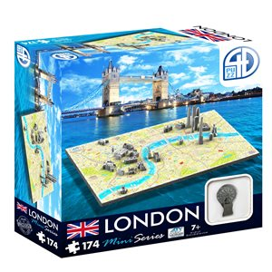 4D Cityscape: Mini London (174 Pieces)