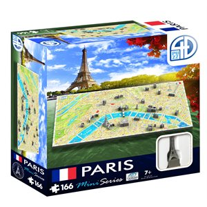 4D Cityscape: Mini Paris (166 Pieces)