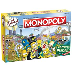 Monopoly: The Simpsons (No Amazon Sales)