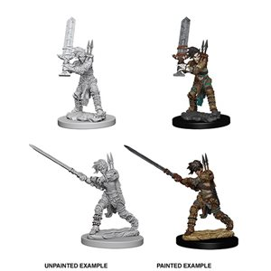 Pathfinder Deep Cuts Unpainted Miniatures: Wave 6: Human Female Barbarian
