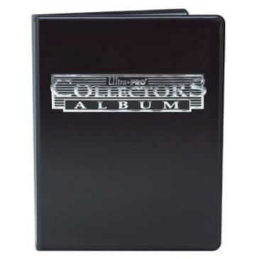 Binder: Ultra Pro 4-Pocket Black Collectors Portfolio