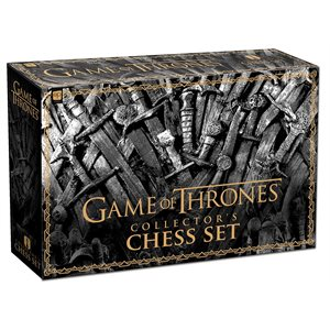 Game of Thrones™ Chess Set ^ Oct 2019 (No Amazon Sales)