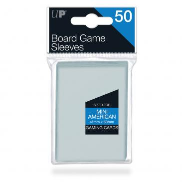 Sleeves: Mini American Board Game Sleeves (50ct)