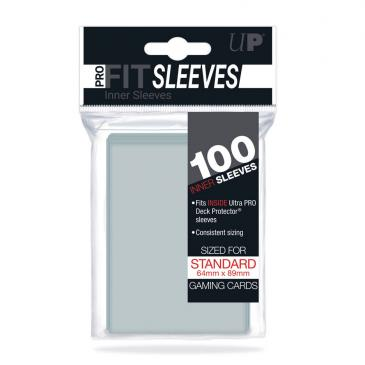 Sleeves: Pro-Fit Deck Protectors Clear (100ct)