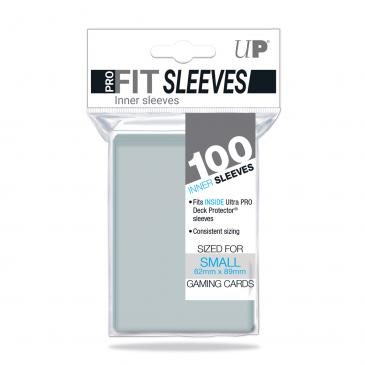 Sleeves: Pro-Fit Japanese Size Deck Protectors Clear (100ct)
