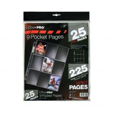 Pages: 9-Pocket Silver Series (25)