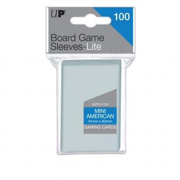 Sleeves: Lite Mini American Board Game Sleeves 41mm x 63mm (100ct)