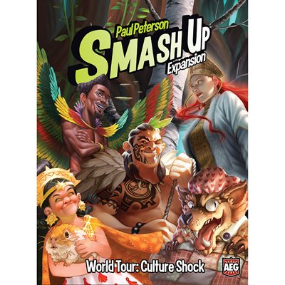 Smash Up: Expansion World Tour Culture Shock Expansion