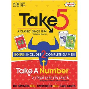 Take 5 / Take A Number Combo Pack (No Amazon Sales)