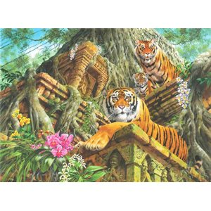 Puzzle: 1000 Temple Tigers