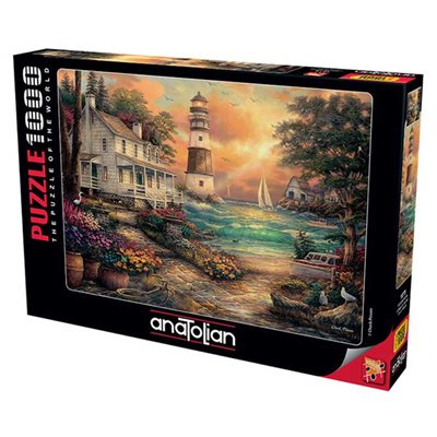 Puzzle: 1000 Cottage by the Sea