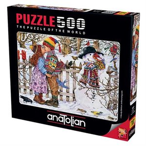 Puzzle: 500 First Kiss