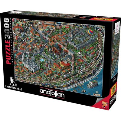 Puzzle: 3000 Fractal Istanbul