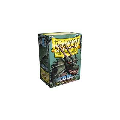 Sleeves: Dragon Shield Classic Green(100)