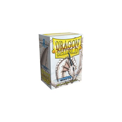 Sleeves: Dragon Shield Classic White(100)