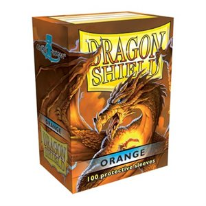 Sleeves: Dragon Shield Classic Orange(100)