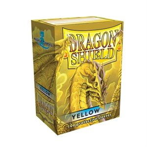 Sleeves: Dragon Shield Classic Yellow(100)