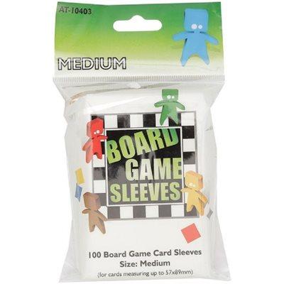 Sleeves: Board Game Clear Medium (100)