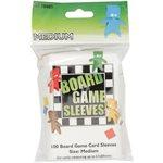 Sleeves: Board Game Clear Medium (100)