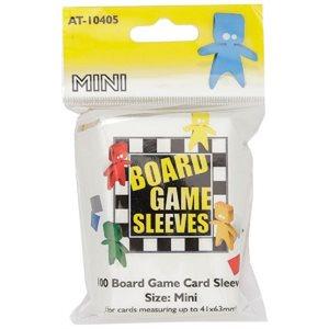 Sleeves: Board Game Clear Mini (100)