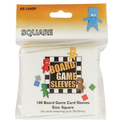 Sleeves: Board Game Square (100)