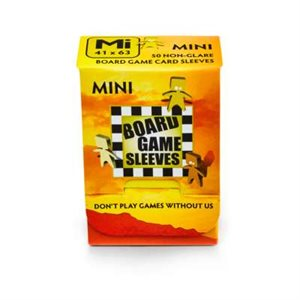 Sleeves: Board Game Mini (Non-Glare) (50)