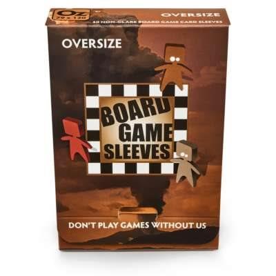 Sleeves: Board Game Oversize (Non-Glare) (50)