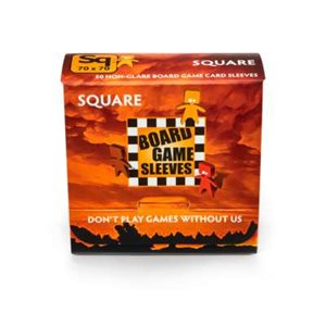 Sleeves: Board Game Square (Non-Glare) (50)