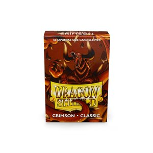 Sleeves: Dragon Shield Japanese Crimson (60)