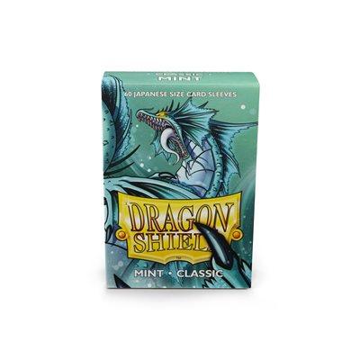Sleeves: Dragon Shield Japanese Mint (60)